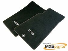 Genuine Mazda Tailored Black Floor Mat Set MX5 Mk1/ 2 / 2.5 1989 2005 RHD Carpet
