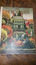 NEW YORKER MAGAZINE Oct 12, 1946 Full Issue Great Ads Southern Comfort Old Spice