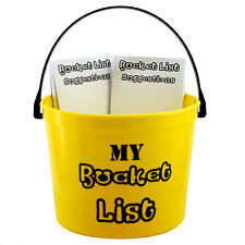 Bucket List - Fun package for Birthday, Anniversary and Retirement Parties