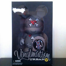 """DISNEY VINYLMATION 9"""" URBAN 2 SERIES HEARTS AND BONES MICKEY MOUSE TOY FIGURE"""