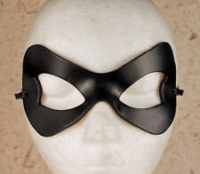 HARLEY QUINN Mask Leather Harlequin Batwoman Costume Halloween Fancy Dress Mask
