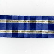 "Medal Ribbon.NATO Led Article 5 Operations Full Size. Sold in 6"" Lengths"