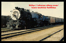 Postcard  SOUTHERN PACIFIC  2-10-2 Three-Cylinder SP #3690 X3690 Tracy Yard 1956