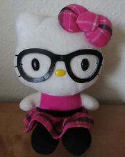 FAB CUTE SANRIO LIBRARIAN *HELLO KITTY* PLUSH SOFT TOY WITH GLASSES