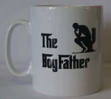 THE BOG FATHER Funny/Novelty/Rude Toilet Joke Tea/Coffee Drinking Mug