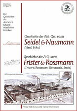 Dingwerth historia máquinas de escribir: Seidel & Naumann ideal frister & Ross hombre