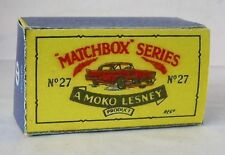 Repro Box Matchbox 1:75 Nr.27 Cadillac Sixty Special