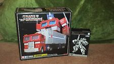 MP 04 Masterpiece Optimus Prime Convoy & Trailer With TFC Battle Rollar