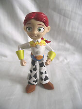 DISNEY PIXAR TOY STORY / 7 INCH JESSIE TALKING MINI PULLSTRING FIGURE / NO HAT