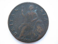 1694 William and Mary Halfpenny, NVF, porous. ACS