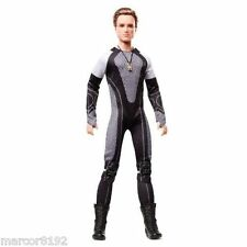 Barbie The Hunger games Catching fire Peeta black Label Collector Doll New