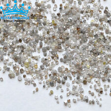 1 crts+ 100% Natural Loose Round Single Cut SCRAP BREAKOUT Diamonds Fancy Real