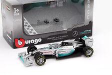 Lewis hamilton mercedes f1 w05 Hybrid #44 campeón mundial de fórmula 1 2014 1:43 Bburago