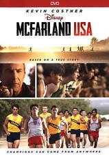 McFarland, USA (DVD, 2015) VG