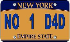 Novelty Number Plate, Birthday Gift Fun American New York Licence Plate
