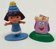 Lot Dora the Explorer & Nick Jr. Backpack PVC Figures Birthday Party Cake Topper