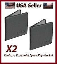 2 New Bell Black Document Wallets Car / Vehicle Insurance & Registration Holder