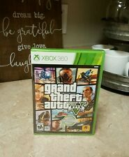 NEW Grand Theft Auto V Xbox 360 Microsoft Grand Theft Auto 5 FIVE Game GTA 5