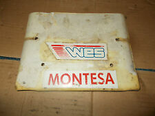 montesa cota 310 front number board plastic aircooled