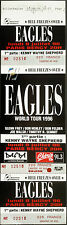 ** EAGLES ** 1996 FULL & UNUSED CONCERT TICKET - HELL FREEZES OVER TOUR - PARIS