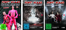 &B 9 DVDs * JOKO GEGEN KLAAS - DAS DUELL UM DIE WELT  1 - 3 IM SET # NEU OVP