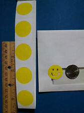 ~~~50~~~ YELLOW SMILEY FACE STICKERS BODY STICKERS