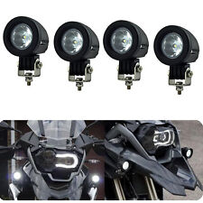 4x 10W Cree Spot Led Work Light Round Motorcycle 4WD ATV Offroad Driving Flood