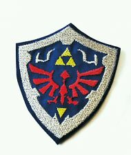 The Legend of Zelda Hyrule shield embroidered iron on patch 85mm