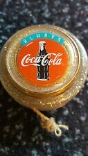 Original limited edition gold coca cola russell spinner yo yo yoyo coke v. rare