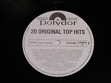 20 ORIGINAL TOP HITS - (Golden Earring, Slade) LP Polydor Promo Archiv-Copy mint