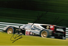 Nicolas Prost, Nick Heidfeld, Neel Jani Hand Signed Rebellion Lola 12x8 Photo 2.