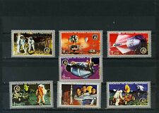 EQUATORIAL GUINEA SPACE APOLO 15 SET OF 7 STAMPS MNH