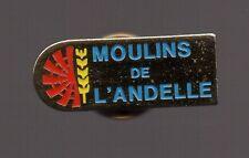 Pin's moulins de l'Andelle (Haute Normandie) argenté