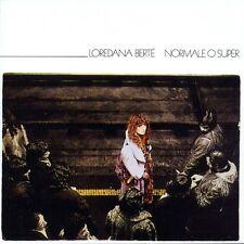 LOREDANA BERTE' - NORMALE O SUPER - CD SIGILLATO 2016