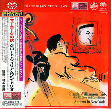 CLAUDE WILLIAMSON TRIO-AUTUMN IN NEW YORK-JAPAN MINI LP SACD J76