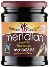 Meridian ORGANIC Unsulphered Fairtrade Molasses Pure Blackstrap 740g