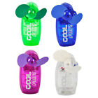 Mini Portable Pocket Fan Cool Air Hand Held Battery Travel Blower Cooler Desk