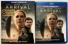 ARRIVAL BLU RAY + SLIPCOVER SLEEVE FREE WORLD WIDE SHIPPING AMY ADAMS JEREMY REN