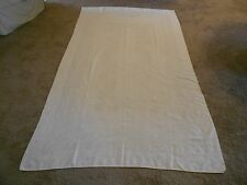 "Linen Table Cloth Bridal Everyday Floral Embossed Design Ivory 100"" x 59"""