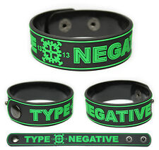 TYPE O NEGATIVE Rubber Bracelet Wristband Peter Steele