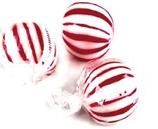 Peppermint Hard candy Balls old fashioned nostalgic candy , 2 lbs