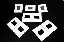 20 WHITE CARD MOUNTS FOR 6 X 4.5 transparencies / slides / pictures  + 10 free