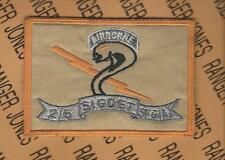 2nd Bn 5th Special Forces Group Airborne Signal Det OIF OEF pocket patch c/e