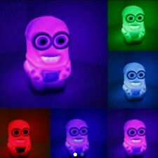 Color Changing LED Night Light Despicable Me 2, Minions Table Lamp, - US seller