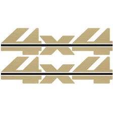 1988 - 1997 4x4 Decals for Chevy Silverado GMC Sierra 1500 2500- Vinylmark GOLD