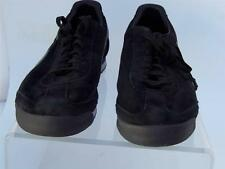 PUMA ROMA BLACK GRAY SUEDE MENS US 14 GUC SNEAKERS FOOTBALL SOCCER CLASSIC