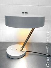 70er VINTAGE- Tischleuchte - Leuchte - Schreibtisch Lampe Grau SIS 70s