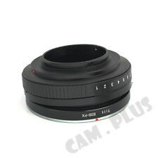 Camera Tilt Adapter For Canon EF EOS Lens to Fujifilm Fuji X-Pro1 X-E1 X-E2 X-M1