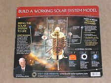"BUILD A MODEL SOLAR SYSTEM, MOTORISED ""ORRERY"" KIT, ALL ISSUES 1-52 BY EAGLEMOSS"