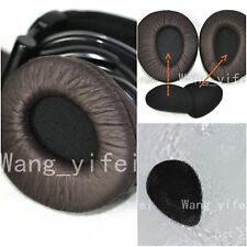 Brown Ear Pads Cups Cushion For Sony MDR V600 V900 HD Headphones Add Foam Disks